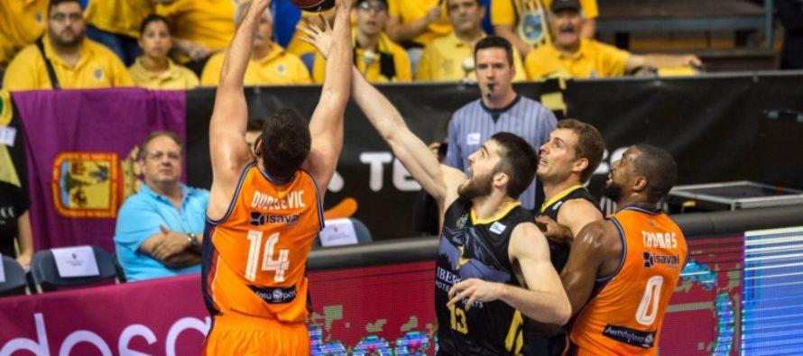 Valencia Basket vuelve a conquistar Tenerife y sigue invicto (67-70)