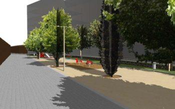 El miércoles se inicia la remodelación del jardín de la calle Ramón de Castro