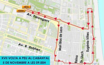 La Volta a Peu al Cabanyal restringix els estacionaments a Tarongers