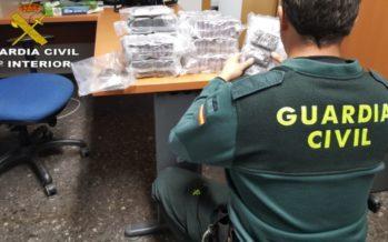 Operación de la Guardia Civil contra el narcotráfico en Sagunt