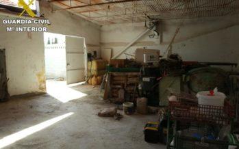 La Guardia Civil detiene a los autores de diversos robos en fincas agrícolas y ganaderas de la Vega Baja
