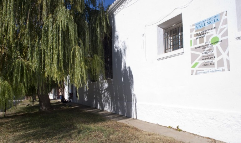 La antigua casa del maestro de El Rebollar