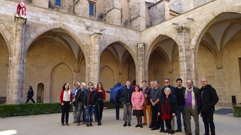 Presentació de Ciutat Vella Oberta en el Centre del Carme de València