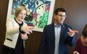Diputación ayudará a Conselleria a mantener las líneas deficitarias de transporte interurbano