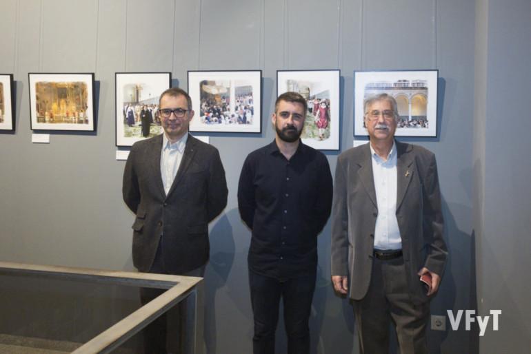De izquierda a derecha: Gil Manuel Hernández, Pere Fuset y Pedro Molero