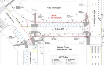 La calle Galicia será peatonal y se ampliará el patio del colegio Primer Marqués del Turia