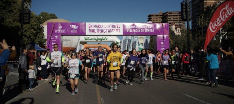 Valencia marcha contra la violencia de género