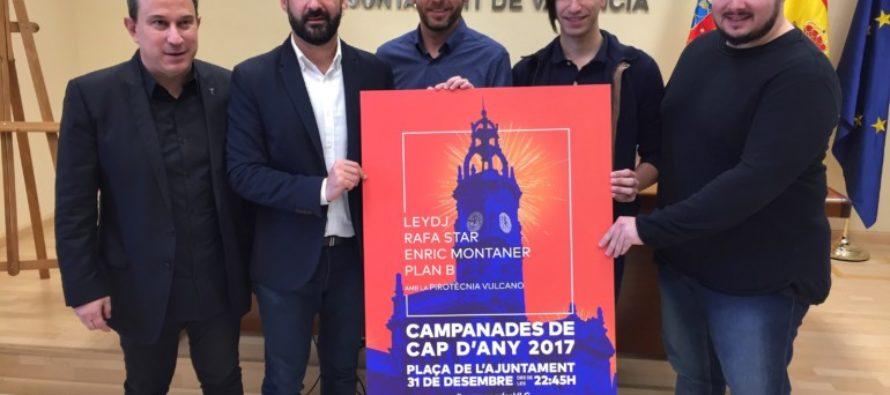 València prepara el seu tercer cap d'any consecutiu amb DJs, pòlvora i llum