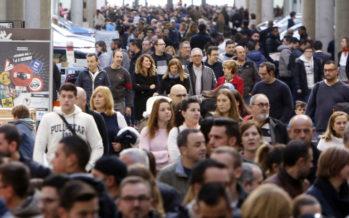 La Feria del Automóvil de València, llena el fin de semana
