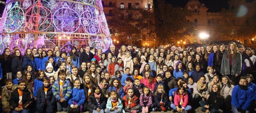 València s'encen per a rebre el Nadal 2017