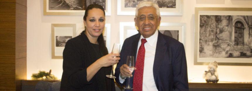 Emilio Gutiérrez brinda por la buena marcha de Ameyal