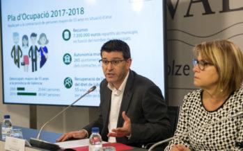 Jorge Rodríguez presenta el Plan de Empleo de Diputación en la Hoya de Buñol