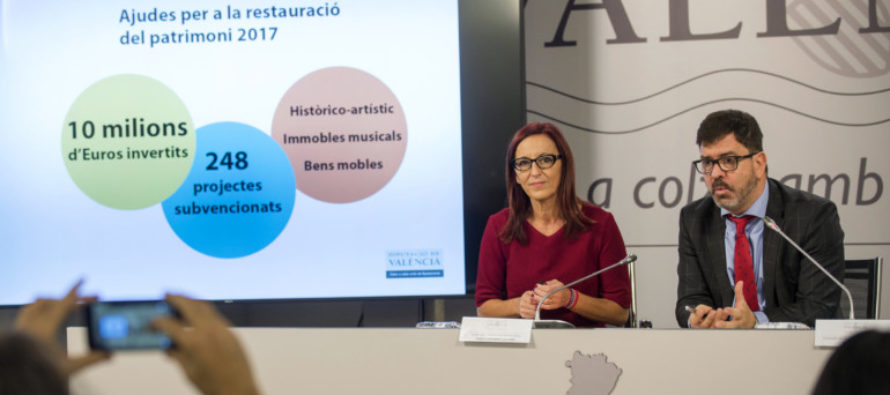L'Horta rebrà 800.000 euros per a la restauració del seu patrimoni
