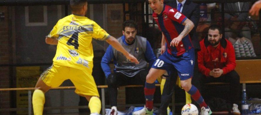 El Levante UD FS busca la victoria en Santiago