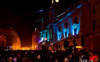 Música, luz y un piromusical despedirán el año en la Plaza del Ayuntamiento