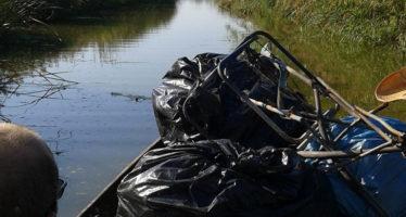 Se recupera más de una tonelada de residuos en l'Albufera