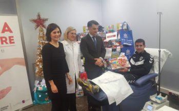 Sanidad presenta la campaña de donación de sangre 'Una donación, un regalo'