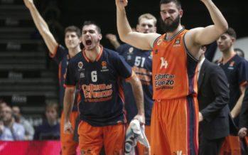 El Valencia Basket logra la cuarta a base de sangre, sudor y lágrimas (67-63)