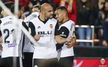 El Valencia CF suma y sigue ante un buen Celta de Vigo (2-1)