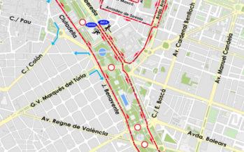 Cortes de tráfico por la 10K València Ibercaja
