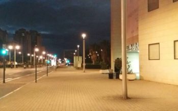 El Ayuntamiento unifica la iluminación del entorno del Palau de la Música