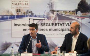 La Diputació invierte 12 millones en carreteras más seguras en l'Horta