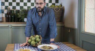 El chef David Lecanda destaca en Madrid Fusión la alcachofa como su verdura estrella
