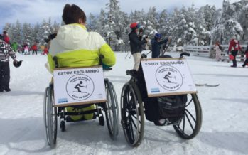 La Diputació promociona l'esquí adaptat per a persones amb diversitat funcional