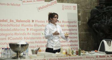 La chef Begoña Rodrigo descubre en el Palau la cocina de aprovechamiento