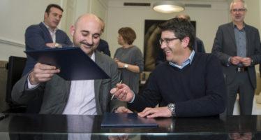 Divalterra firma un convenio de desarrolo rural con Redteval