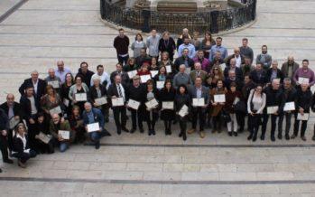 L'Ajuntament d'Alfafar ret homenatge al seu personal pels més de 25 anys de dedicació