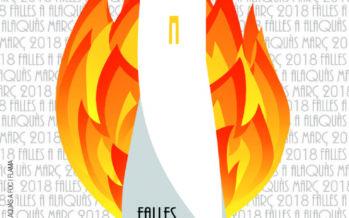 Daniel Mínguez Fornés guanya el concurs de cartells de les Falles d'Alaquàs 2018