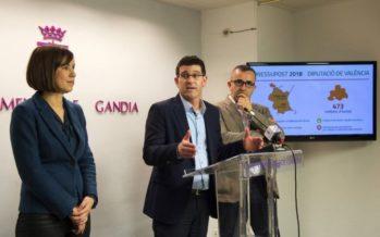 La Diputació duplica les seues inversions a La Safor en la present legislatura