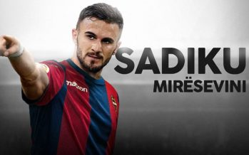 El Levante hace oficial el fichaje del albanés Sadiku
