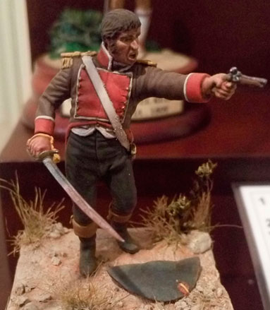 Teniente de la Milicia Honrada del Reino de Valencia. (Foto del Museo Histórico Militar de Valencia).