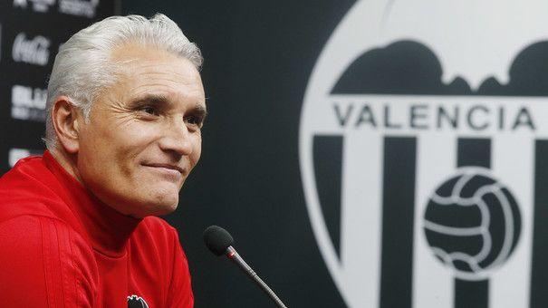 Rubén Uría dio a conocer la lista de convocados para el partido de Copa ante la UD Las Palmas. Foto: ValenciaCF.com