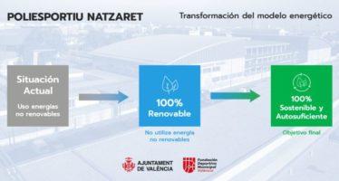 El Poliesportiu de Natzaret serà 100% energèticament eficient