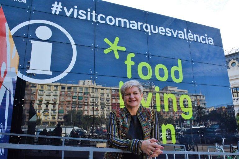 Pilar Moncho cubo Valencia Turisme