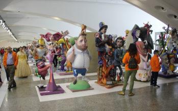 La sátira fallera se abre paso en la exposición del Ninot 2018