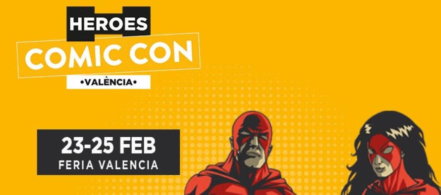 Acelera la cuenta atrás para Heroes Comic Con València