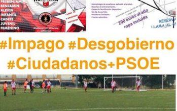 """El PP tílda de """"opacidad y falta de transparencia"""" la gestión deportiva municipal en Loriguilla"""