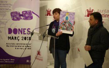 Ontinyent presenta les homenatjades i activitats del Dia de la Dona
