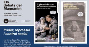 El poder y la represión, objeto de los Premios València de Ensayo 2017