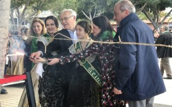 Ribó asiste en Castellón a las fiestas de la Magdalena