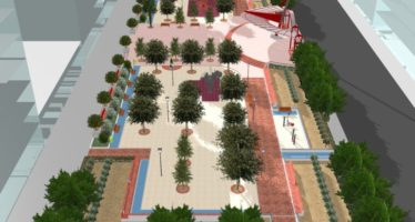 El jardín de la calle Emili Lluch en Patraix 'rejuvenecerá' a sus 20 años