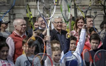 València ya respira tenis para recibir la Copa Davis