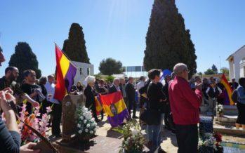 Día de las víctimas del franquismo en el cementerio de Paterna