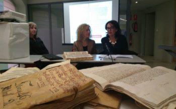 El IVCR+i restaura 9 libros sobre la historia de la ciudad de Alicante