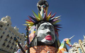 La Falla municipal de València 2018, en imágenes