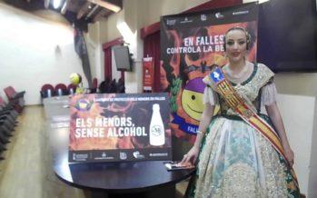La Fallera Mayor de València pide 'controlar' con el alcohol en Fallas